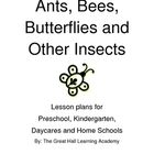 41 pages of in depth lesson plans of the thematic topic of bugs and insects for a daycare, preschool, kindergarten or home school setting.  Detail...