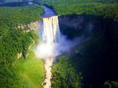 Kaieteur Falls in Guyana by Plastino Scholar Allison