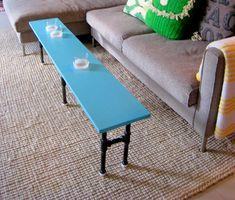Cup Holder Coffee Table
