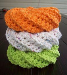 artful explorations: Crochet Scrubbies