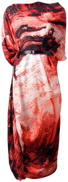 VIVIENNE WESTWOOD ANGLOMANIA Printed Dress - Lyst