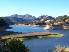 Lopez Lake! I've been camping and windsurfing here many times with family and friends. Lots of fun!
