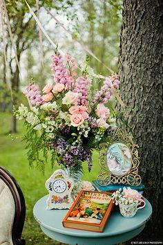Magical Alice In Wonderland Wedding