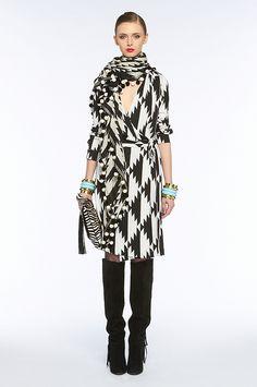 love DVF wrap dress!