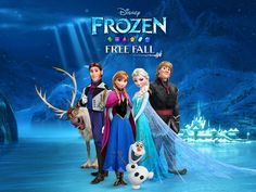 Frozen Free Fall App by Disney. Elimination puzzle game apps.