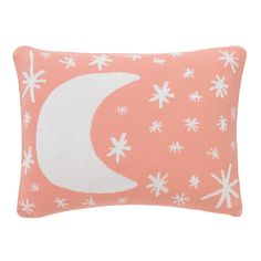 Galaxy Blossom Knitted Boudoir Pillow   Playful and whimsical, this soft knit boudoir pillow is the perfect finishing touch.
