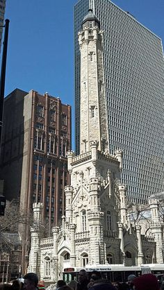 Oldest Public Building? Old Chicago Water Tower (1859).