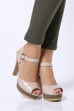 Ayakkabı - Kadın Topuklu Ayakkabı - Tozlugiyim.com.tr