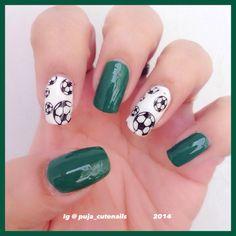 My FIFA World Cup nail art