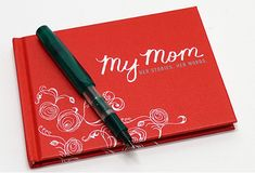 My Mom: Her Story, Her Words Keepsake Book. One of our favorite mom gifts of all time.