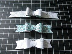 Welcome to Stampin Sue - Stampin Up bows  see her blog for which punches to use bow