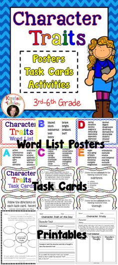 Character Traits for