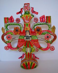 Mexican tree art