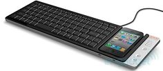 ikeyboard keyboard with dock for IPhone...nice!