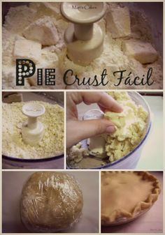 Pie Crust Fácil, Masa de Pie