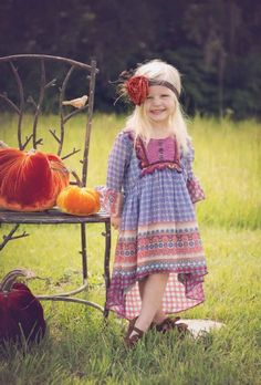 Boho Heidi Dress Preorder 4 to 14 Years
