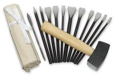 Sculpture House Professional Stone Tool Set - Professional Stone Tool Set