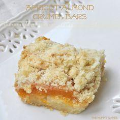 cake, lemon bars, almond crumb, almonds, crumb bar, apricot recipes, bar recipes, apricot almond, caramel apples