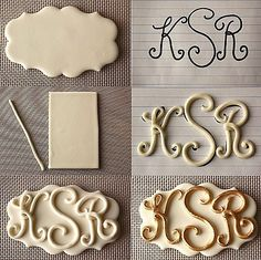 Fondant letters letter, doll cakes, monogram, cake decorations, wedding cakes, cake decorating techniques, polymer clay crafts, cake decorating tips, fondant cakes
