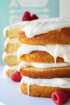 Coconut Layer Cake | TheFoodCharlatan.com #recipe