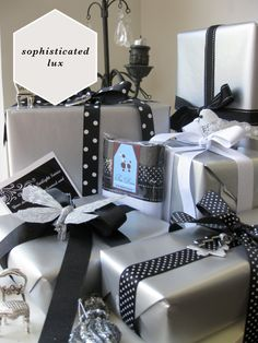 Christmas Gift Wrapping // Tips from Expert Fran Murrie of Trés Divin