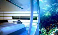Dubai Underwater Hotel (in the process of being built)