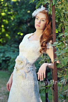 Modest Wedding Dress, Elisabetta   LatterDayBride & Prom
