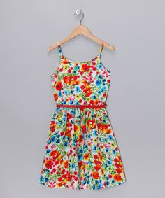 Rainbow Floral Dress by Amy Byer