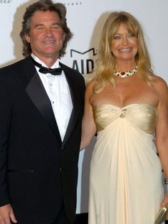 Hollywood royalty Goldie Hawn and Kurt Russell