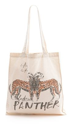 panther shopper tote