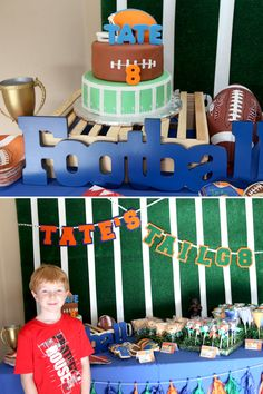 An Amazing Tailg8 Football Party- The Sporty Cake