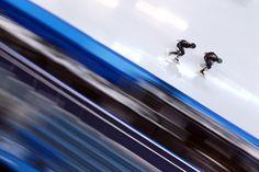Speed skating: Mesmerizing Olympic eye candy