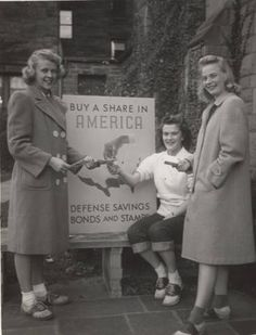 Sale of War Bonds and Stamps, ca. 1943 :: Archives & Special Collections Digital Images