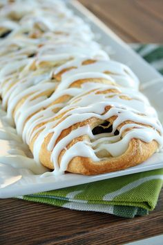 Easy danish made with refrigerated crescent rolls!! Can be made with 1/2 can extra cherry-cherry pie filling and 4 oz cream cheese sweetened with 2 TBSP sugar,
