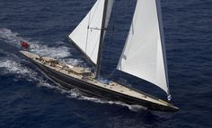 super yacht, yacht lionheart, sail ship, hoek design, sail superyacht