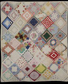 Mitchell, Eugenia. Handkerchief quilt.1972 Rocky Mountain Quilt Museum.  http://www.denverpost.com/news/ci_4889684