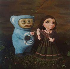 Filipino Artist Luis Lorenzana: The Agony of Popy's Rejection
