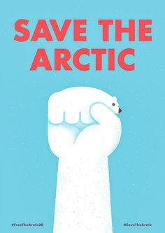 Save The Arctic Illustration by Mauro Gatti