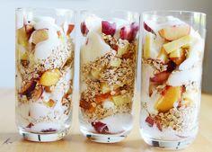 healthy yogurt parfaits