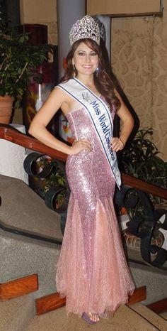 Natasha Sibaja Crowned Miss World Costa Rica 2014