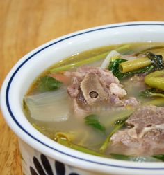 Tips for cooking Filipino pork sinigang soup