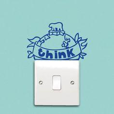 Think wall sticker