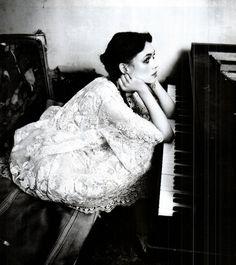 Astrid Bergès-Frisbey by Ellen von Unwerth  Vogue Italia, March 2012