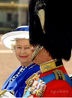 The Queen and Prince Philip - she looks at him with such love..