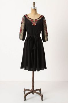 Anthropologie Embroidered Mirabilis Dress $248.00