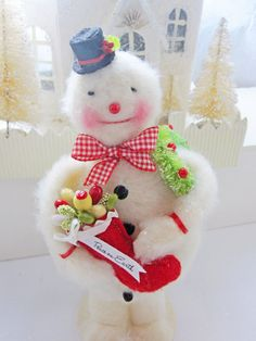 Peace on Earth Says this Happy Little Snowman