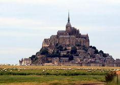 favorit place, castl, mont st, mont saintmichel, visit, france, travel, places, mont saint michel