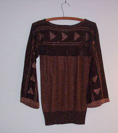 $38.00,1970's, Vintage, bell sleeve, holiday style, sparkly,