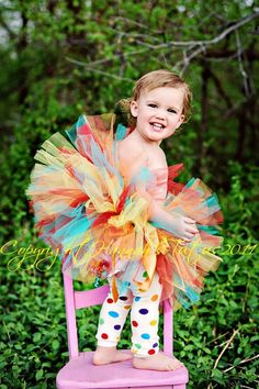 Daisy HOOTs BIRTHDAY TUTU Custom Newborn Baby Girl 1st Birthday 2nd 3rd 4th Birthday Party Tutu. $25.00, via Etsy.
