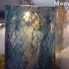 Architecture of a Mom: Colored Mercury Glass